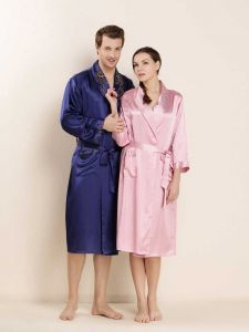Classic Couple Silk Robes