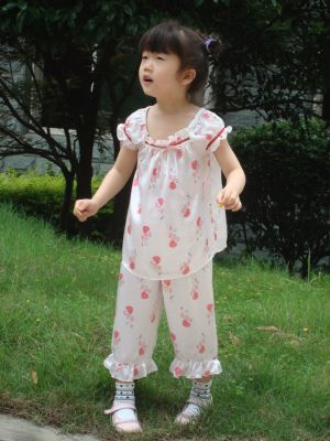 Silk Pajamas for Girl