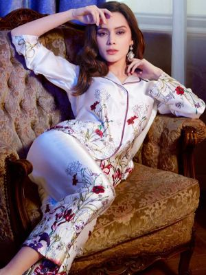 Luxury Silk Pajamas Set