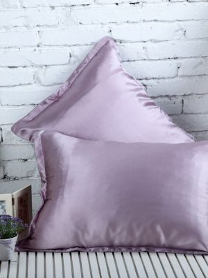 Light Violet Silk PillowCase