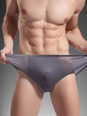 men silk boxer briefs