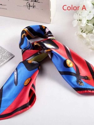 Silk Scarf | Small Square Silk Scarves #2002