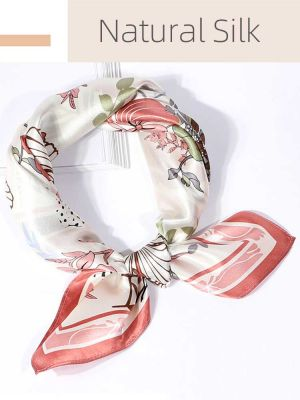 100% Pure Mulberry Silk Scarf Lightweight Silk Neckerchief