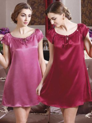 silk nightdress