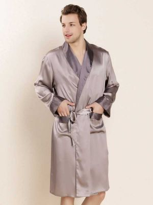 Classic Silk Robe, Pure Silk