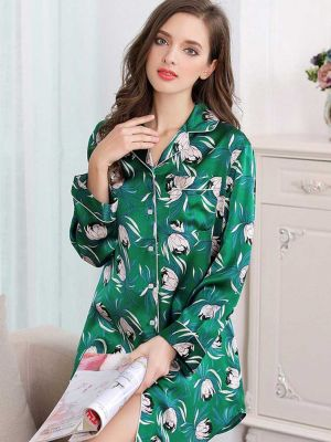 Sleepwear Flower Printed