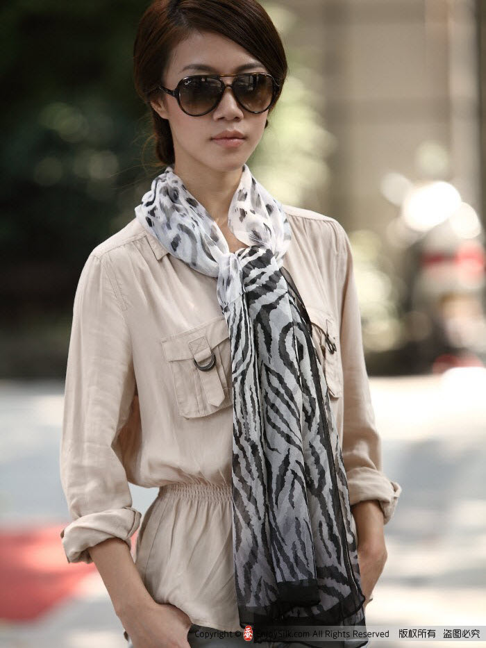 long silk scarves
