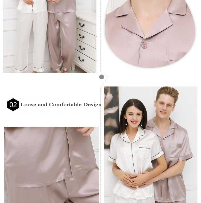 silk pajamas, silk sleepwear