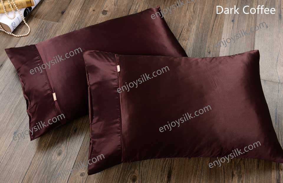 silk pillowcase, Silk shams